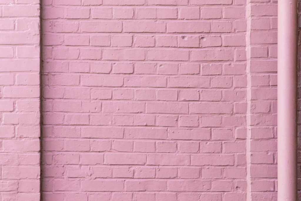 Pink Brick Wall - Denise Goosby Blog